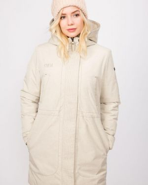 Куртка с капюшоном - бежевая Stayer
