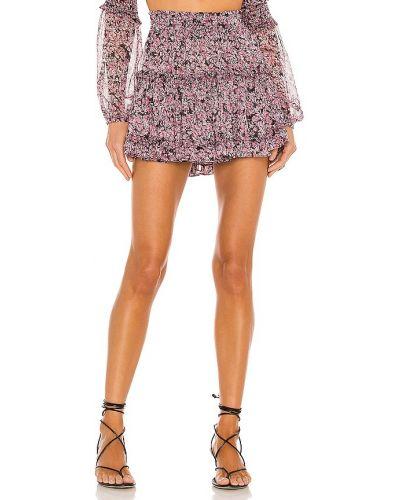 Фиолетовая шифоновая юбка с подкладкой Misa Los Angeles