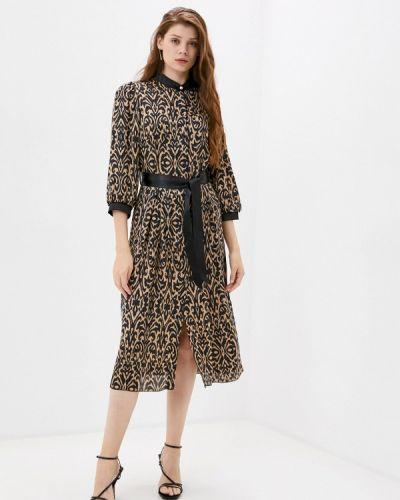 Коричневое платье Rinascimento