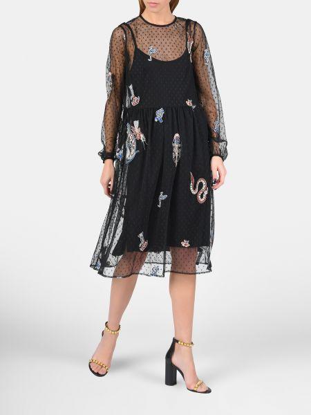 Платье - черное Mangano