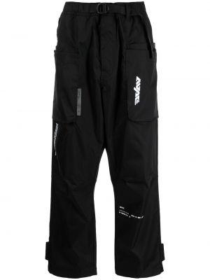 Czarne spodnie Aape By A Bathing Ape