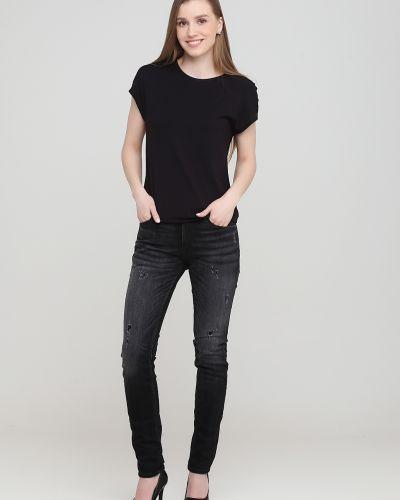 Зауженные джинсы - черные Jack & Jones