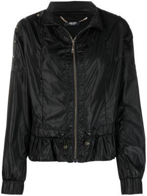 Длинная куртка - черная Liu Jo