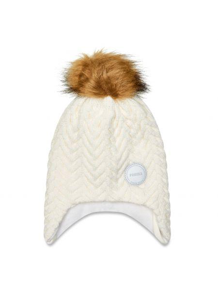 Biała czapka Reima