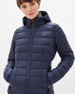Зимняя куртка осенняя синий Reebok