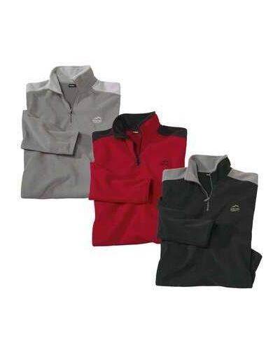 Черный свитер с вышивкой Atlas For Men