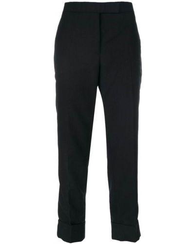 Брюки брюки-сигареты шерстяные Thom Browne