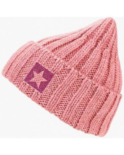 Розовая шапка осенняя Noryalli