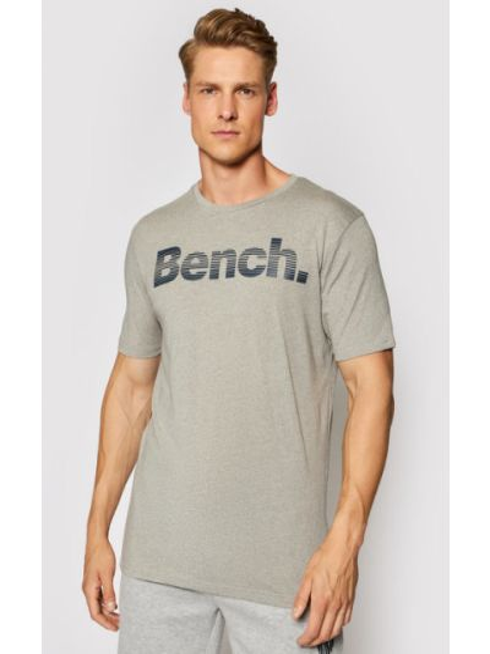 T-shirt - szara Bench