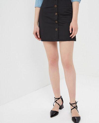 Черная юбка Rinascimento
