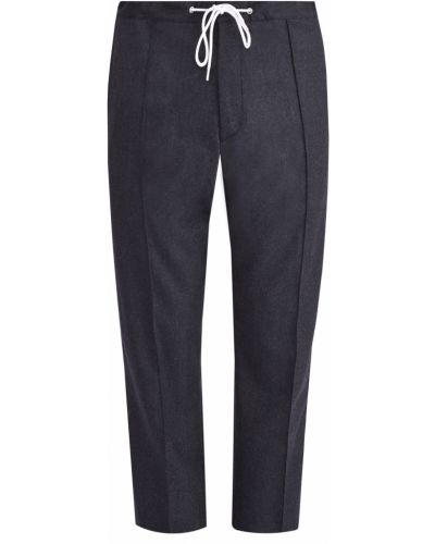 Зауженные брюки классические со стрелками Kenzo
