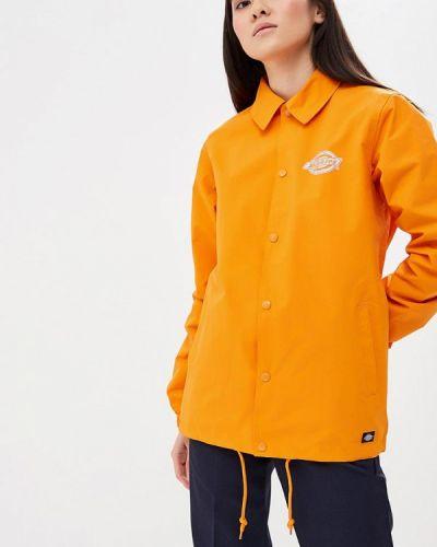 Оранжевая куртка весенняя Dickies