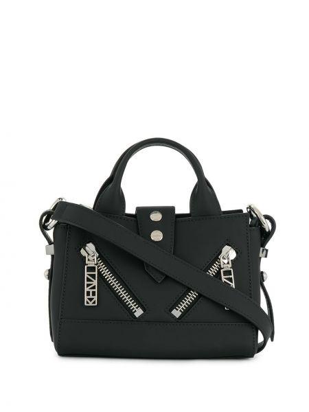 Маленькая сумка на плечо черная Kenzo