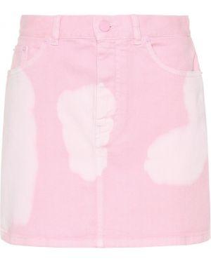Bawełna niebieski bawełna dżinsowa spódnica Givenchy