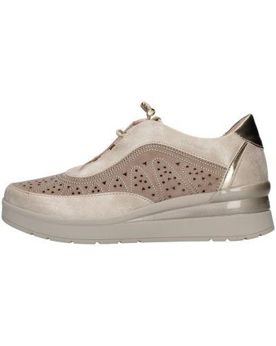 Beżowe sneakersy Stonefly