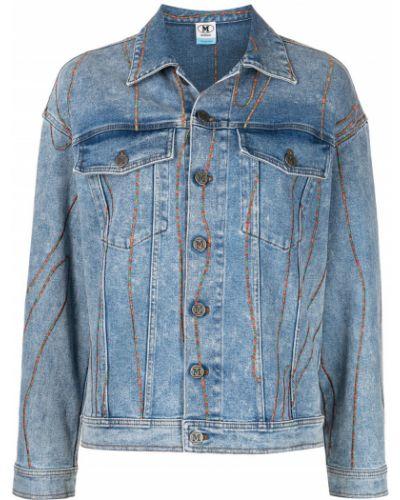 Синяя куртка с манжетами M Missoni