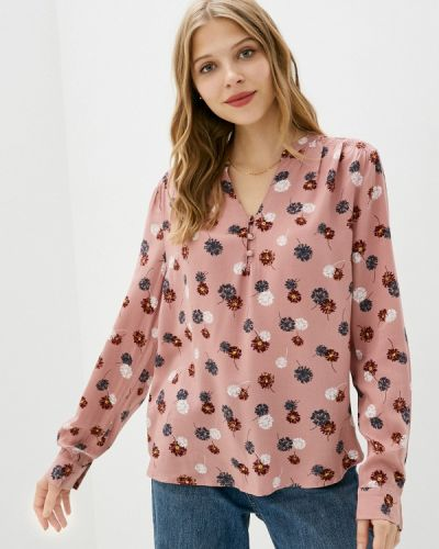 Розовая блузка с длинными рукавами Marks & Spencer