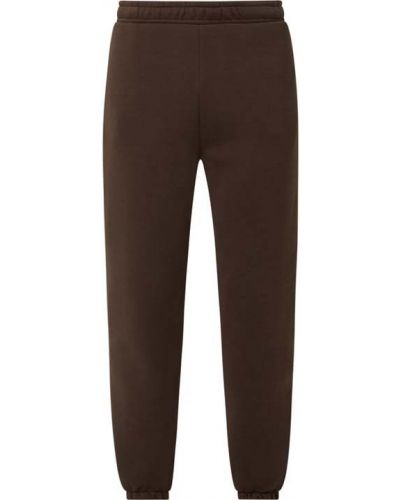 Brązowe spodnie dresowe bawełniane Review