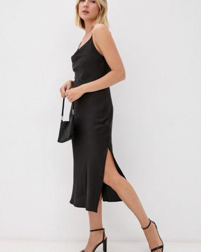 Платье-комбинация - черное Imocean