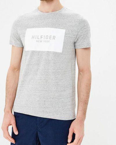 Серая футболка Tommy Hilfiger
