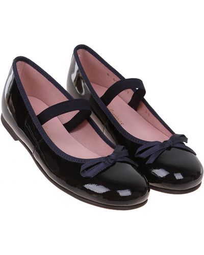 Синие школьные туфли Pretty Ballerinas