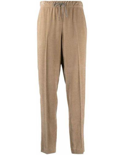 Beżowe spodnie Fabiana Filippi