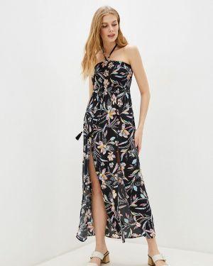 Пляжное платье осеннее черное Marks & Spencer