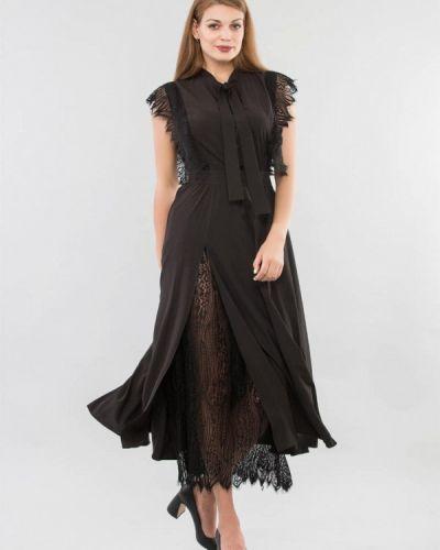Черное вечернее платье Maxa