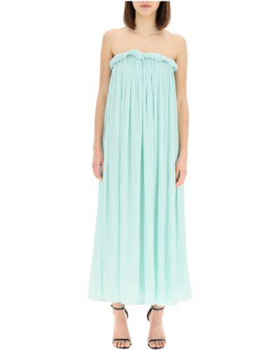 Zielona sukienka długa Sportmax