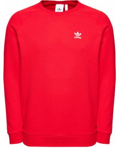 Czerwony bluzka Adidas