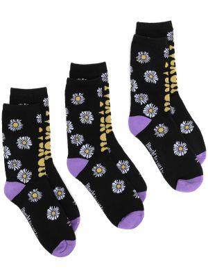 Черные хлопковые носки Natasha Zinko
