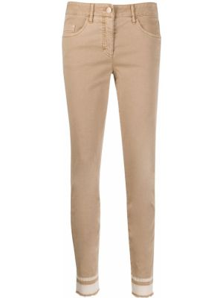 Укороченные брюки с карманами Luisa Cerano
