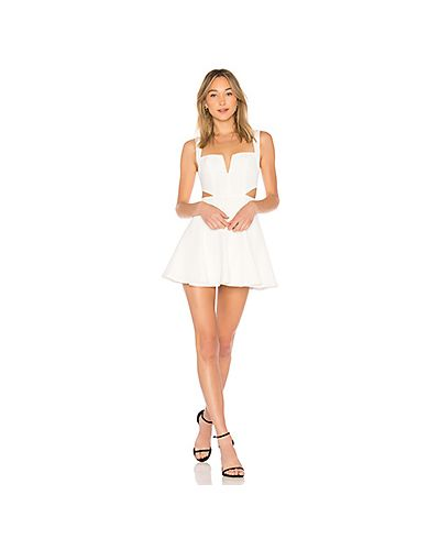Платье мини облегающее с V-образным вырезом By The Way.