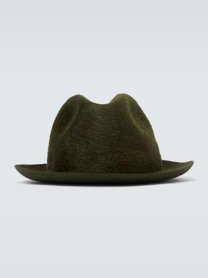 Klasyczny zielony kapelusz Borsalino