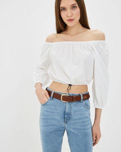Блузка с открытыми плечами белая Ovs