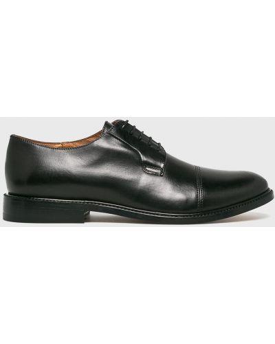 Кожаные туфли на шнуровке Gino Rossi