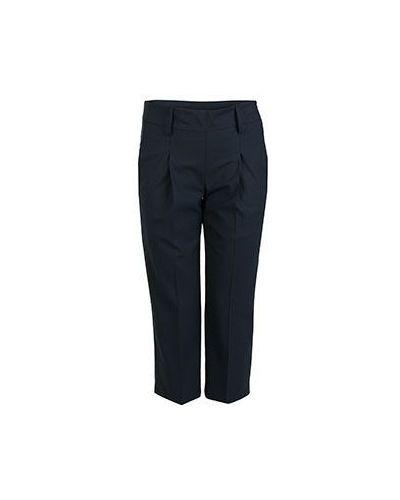 Летние брюки шерстяные синие Eleventy