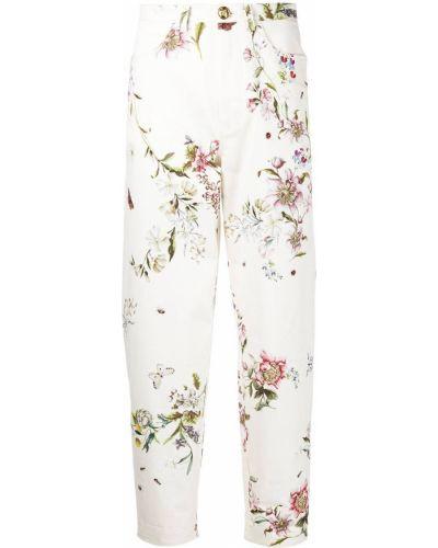 Зауженные джинсы с завышенной талией Giambattista Valli