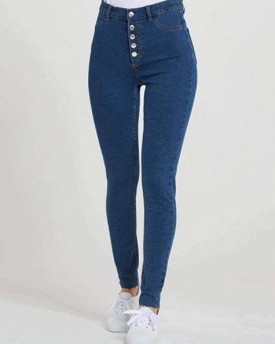 Зауженные джинсы - синие Terranova