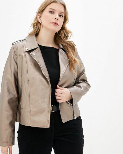 Кожаная куртка - золотая Studio Untold