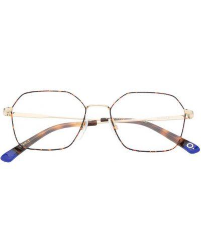 Желтые очки прозрачные металлические Etnia Barcelona