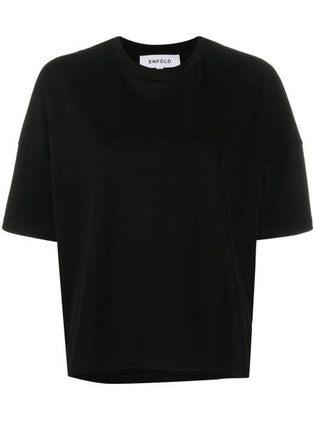 Koszula z krótkim rękawem czarny Enfold
