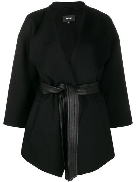 Куртка черная оверсайз Mackage