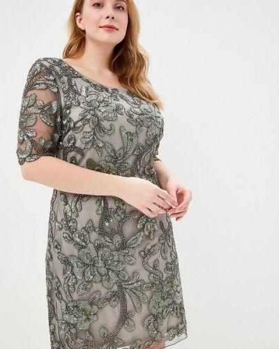 Вечернее платье серое Jan Steen