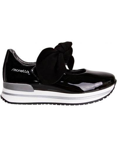 Туфли черные закрытый Simonetta Mini