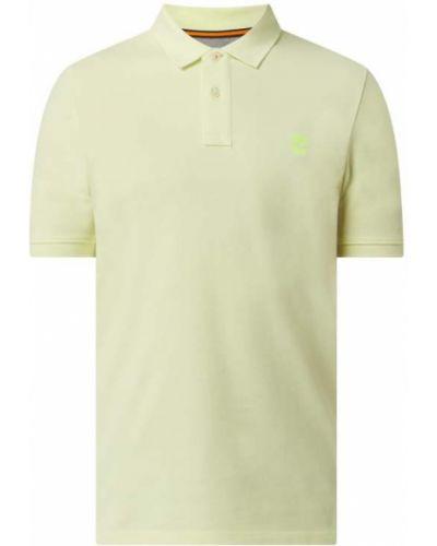 Żółty t-shirt bawełniany Timberland