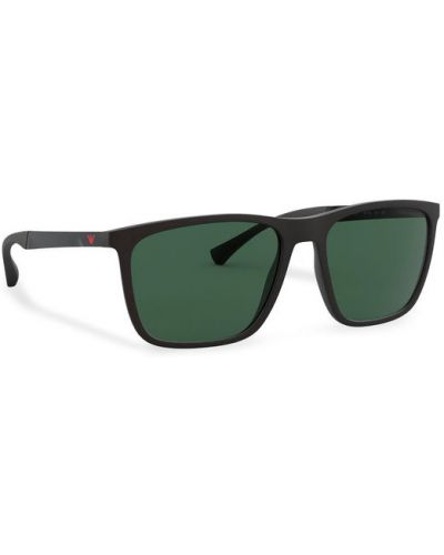 Okulary - czarne Emporio Armani