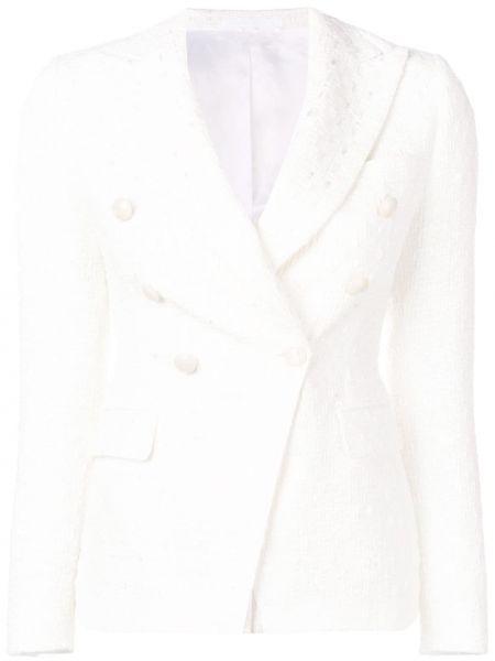 Пиджак твидовый двубортный Tagliatore