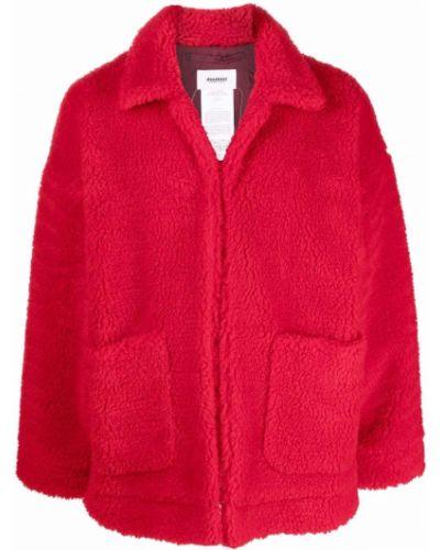 Płaszcz z printem Doublet