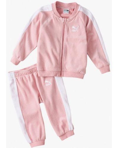 Спортивный костюм розовый Puma
